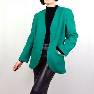 Vintage Pendleton Kelly Green Blazer